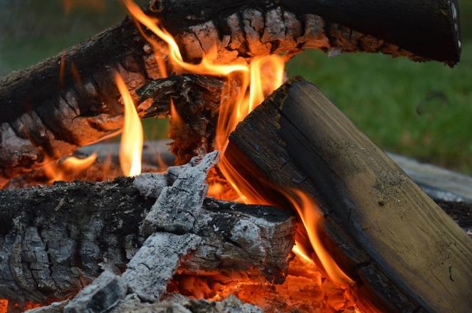 Bonfire Campfire Open Flame Fire Open Fire Burning
