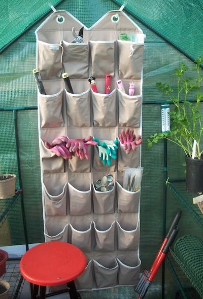 hanging-shoe-organizer-garden-equipment